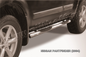NISSAN PATHFINDER (2004)-Пороги d76 с проступями